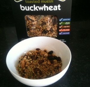 Eat Natural Buckwheat Gluten Free Muesli