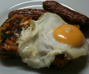 Gluten Free Sweet Potato Bubble and Squeak