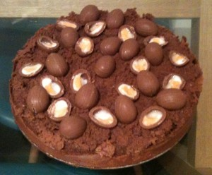 Gluten Free Easter Chocolate Cake